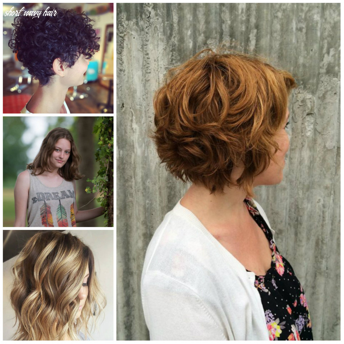Stylish short wavy hairstyle for 12 | 12 haircuts, hairstyles