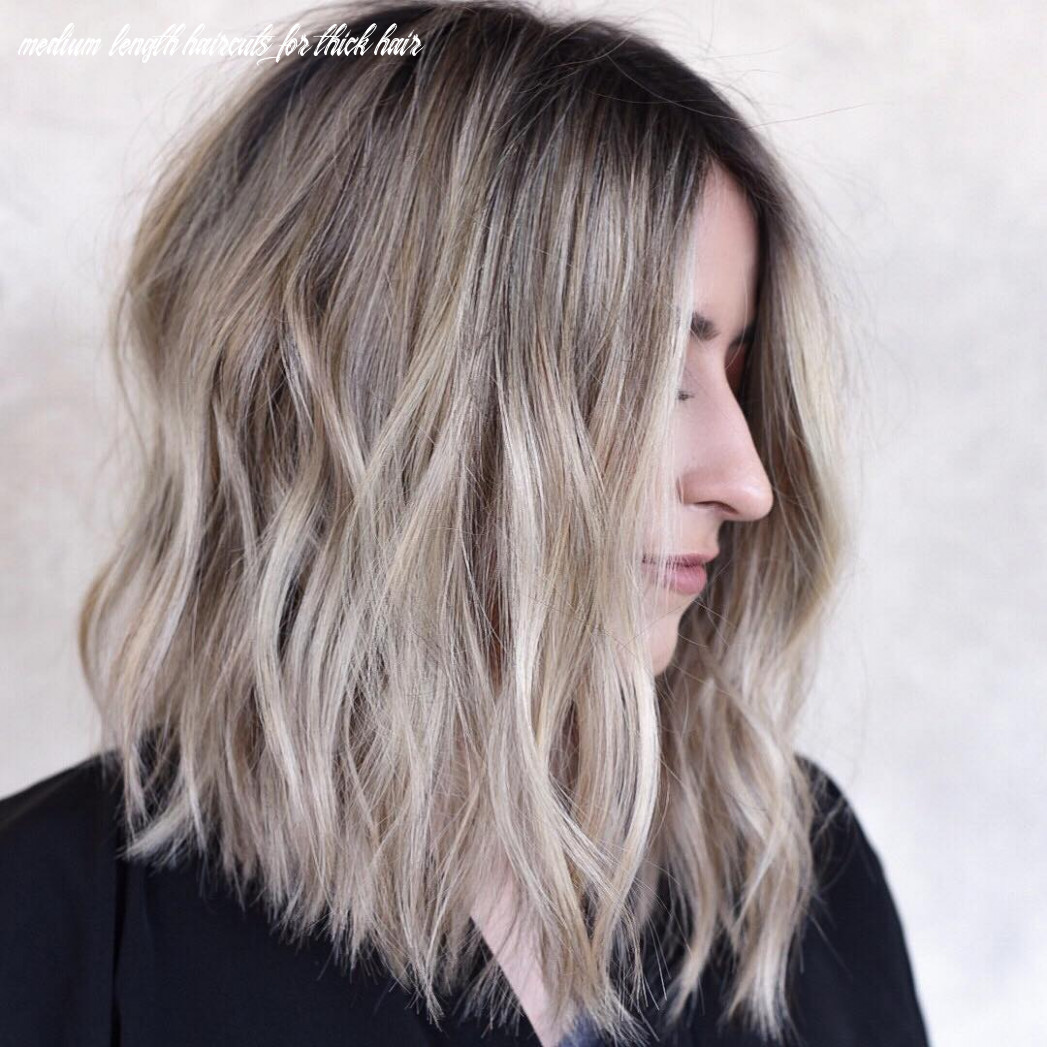 Stylish shoulder length haircuts, women medium hairstyles for