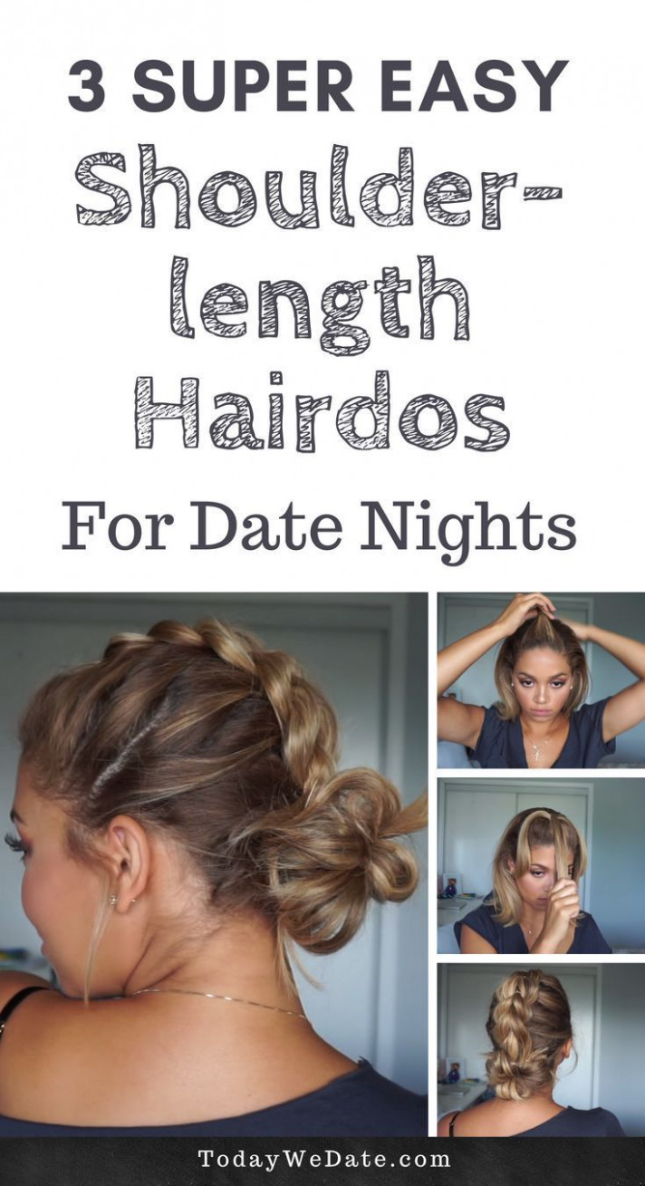 Super easy shoulder length hairstyles that will make your stand