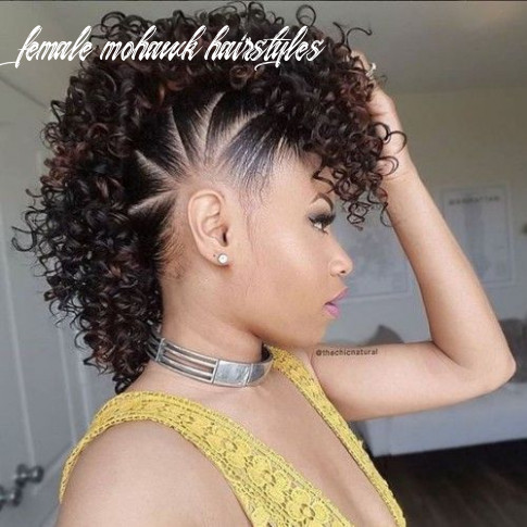 Superb female mohawk hairstyles for black women (with images