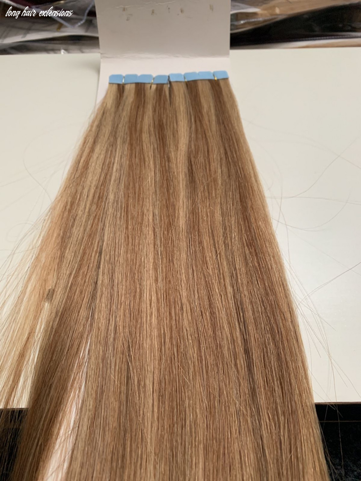 Tape hair extensions 9/19# 9""
