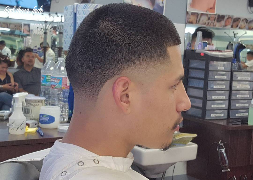 Taper fade: 10 high and low taper fade haircuts for men of style high taper fade