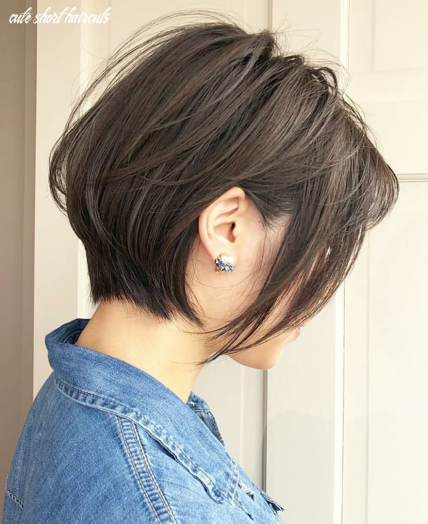 Ten Trendy Short Bob Haircuts for Female, Best Short Hair Styles 9