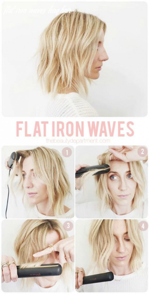 The 11 best flat iron tricks for the hair | frizz free hair, waves