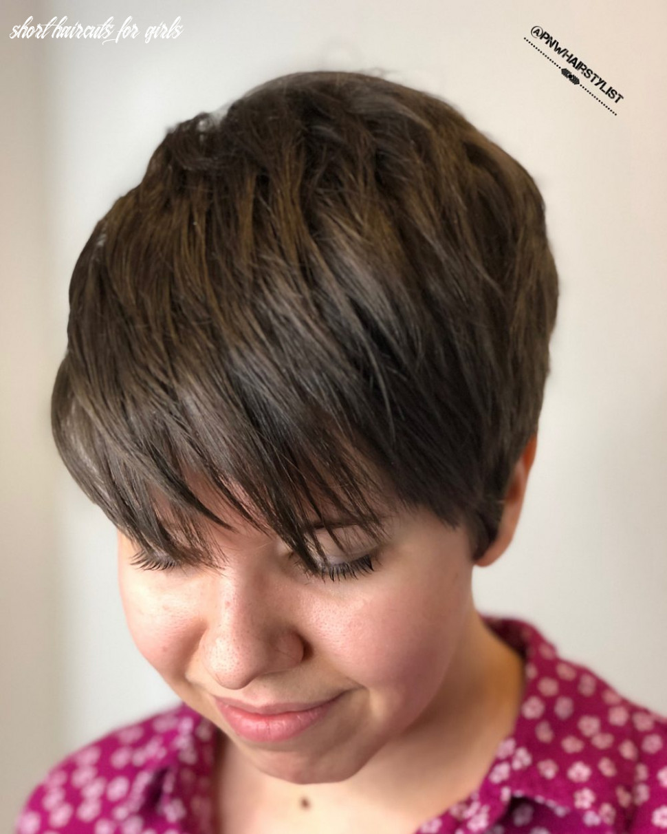 The 12 best short hairstyles for thick hair to be easier to manage short haircuts for girls