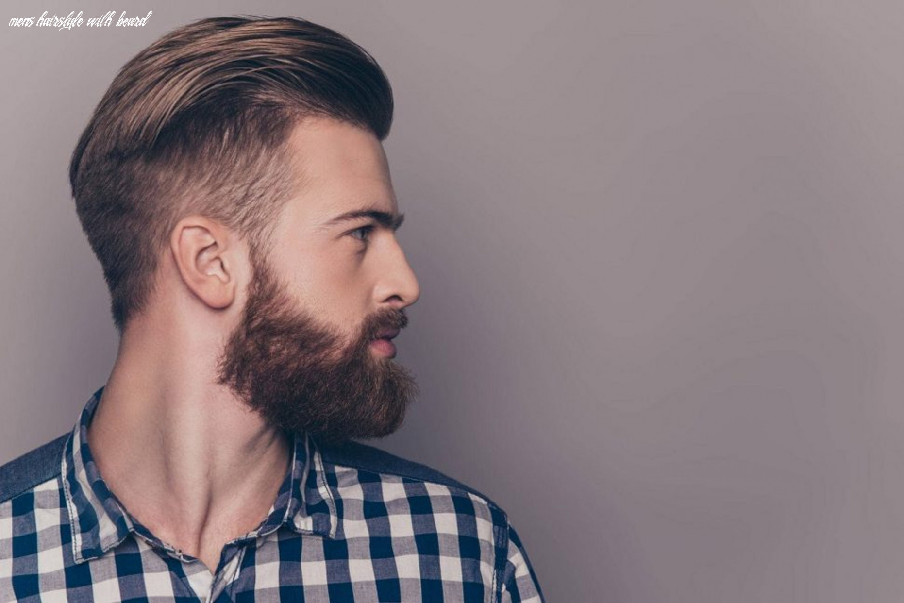 The 8 best hairstyles for men with beards | improb mens hairstyle with beard