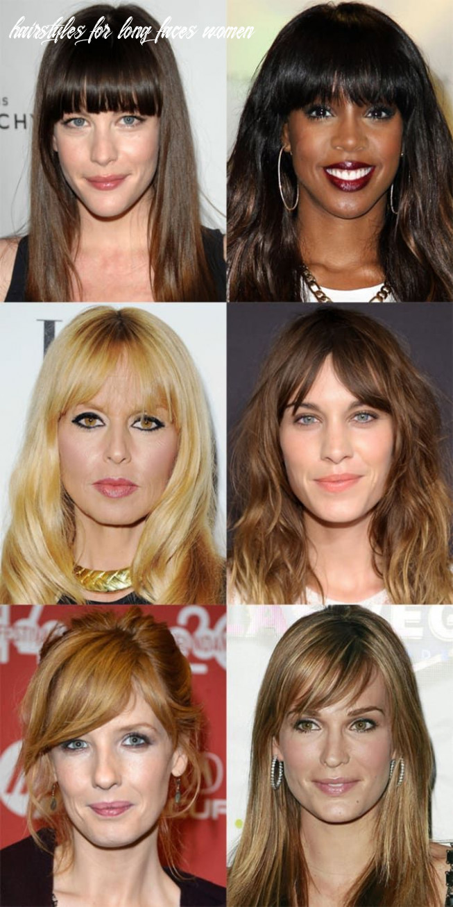 The best (and worst) bangs for long face shapes | long face