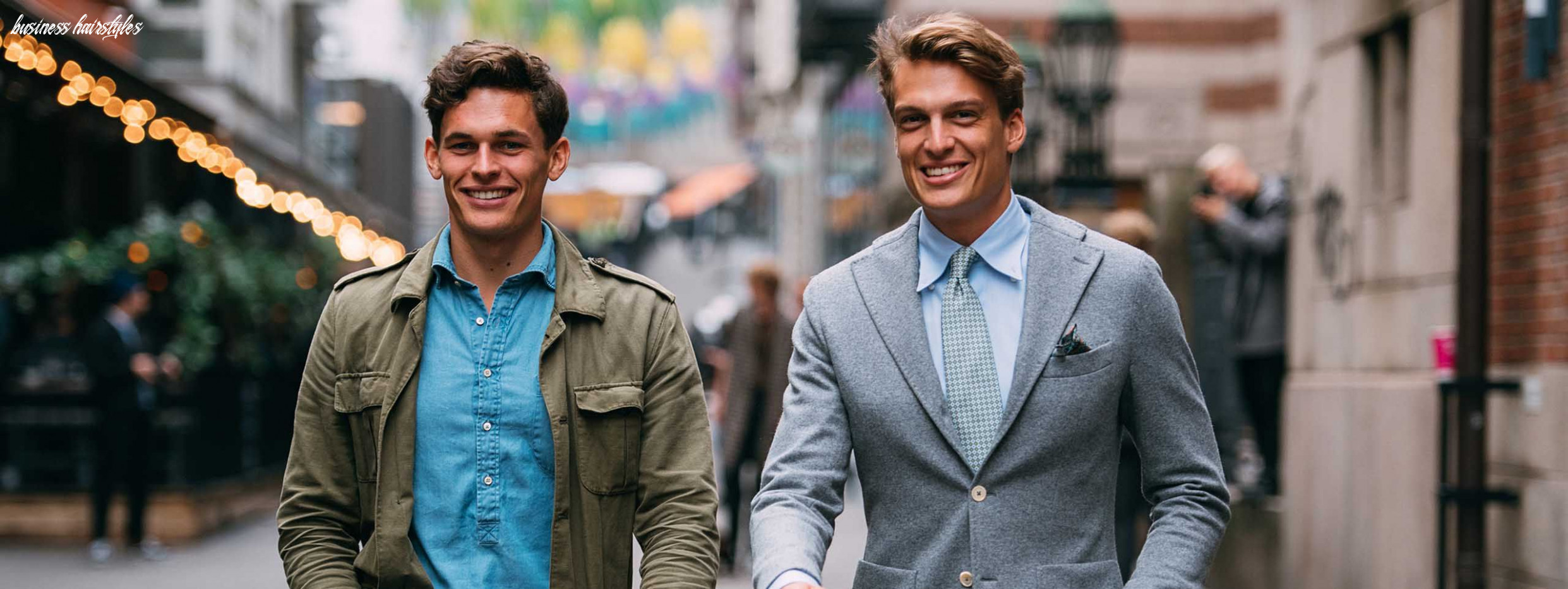 The best business hairstyles for men business hairstyles