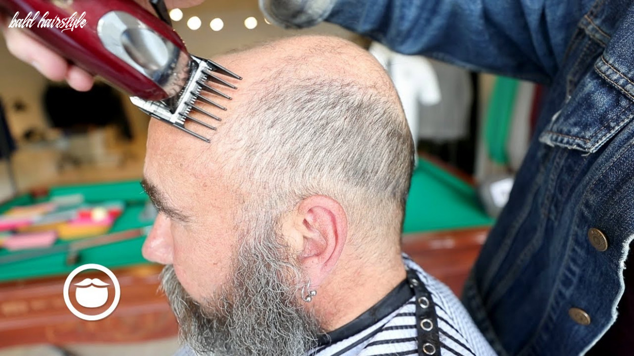 The best haircut for balding men | cxbb vip bald hairstyle