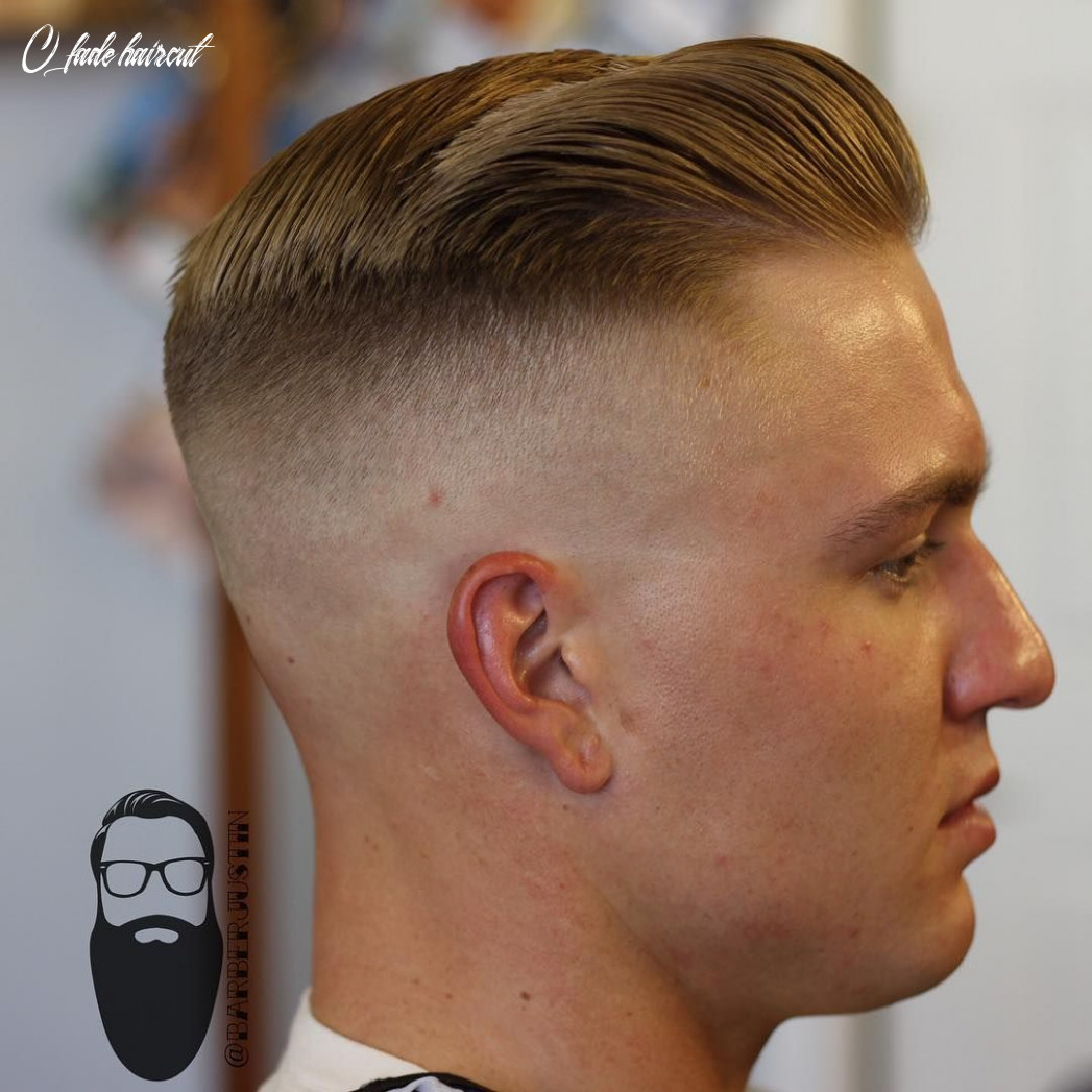 The difference between a 9 fade and a skin fade is big using foil