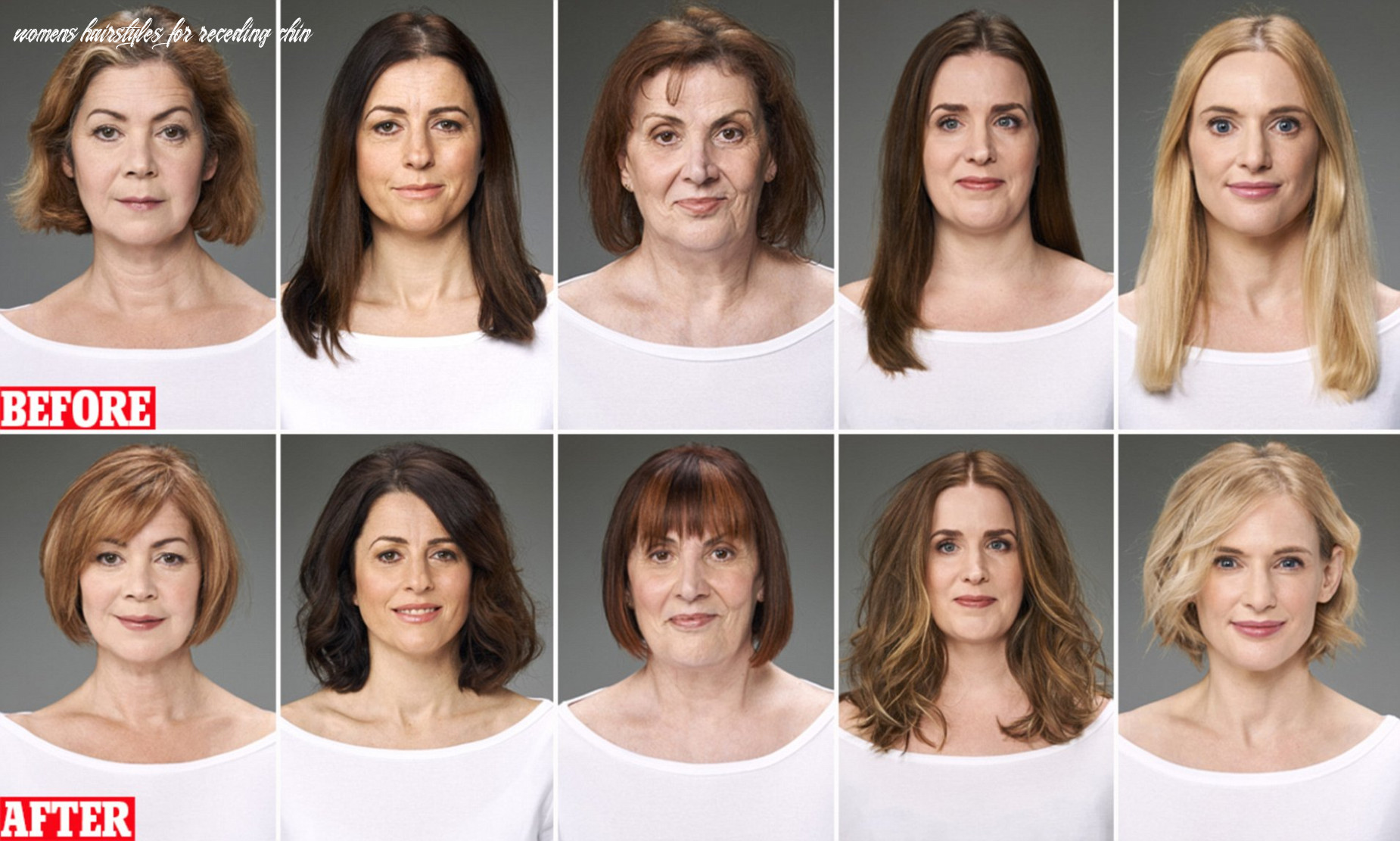 The haircuts as anti ageing as a facelift! | daily mail online womens hairstyles for receding chin