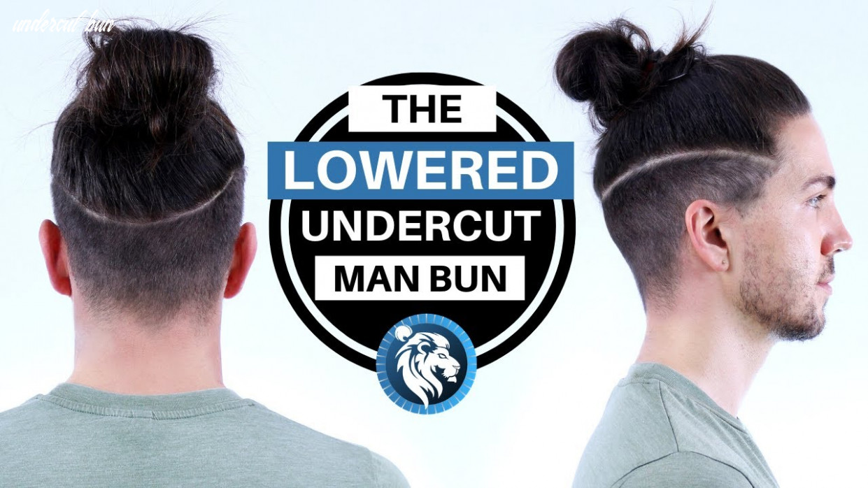 ✅ the lowered undercut man bun what it would look like on me undercut bun