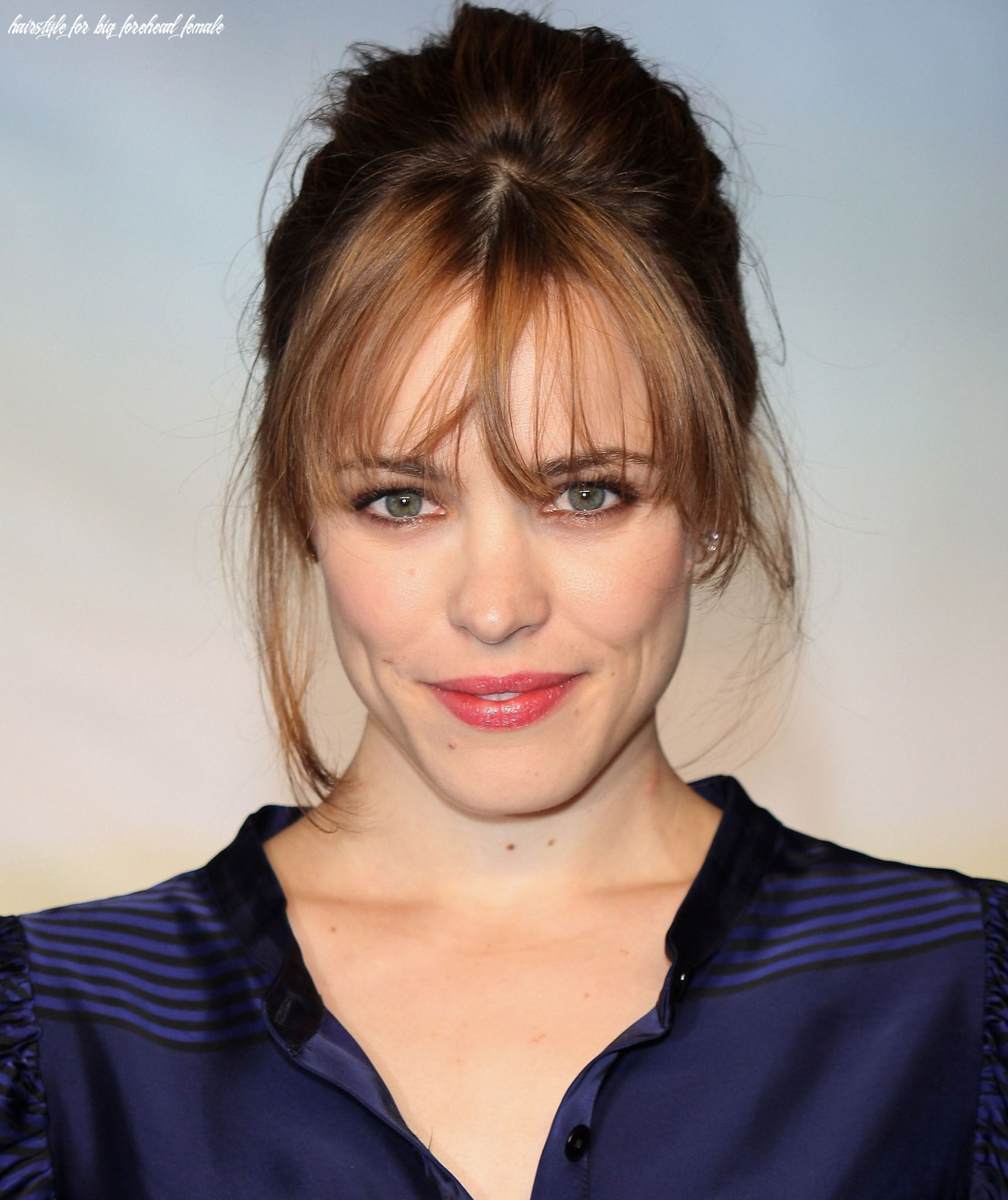 The most flattering haircuts for large foreheads, according to a
