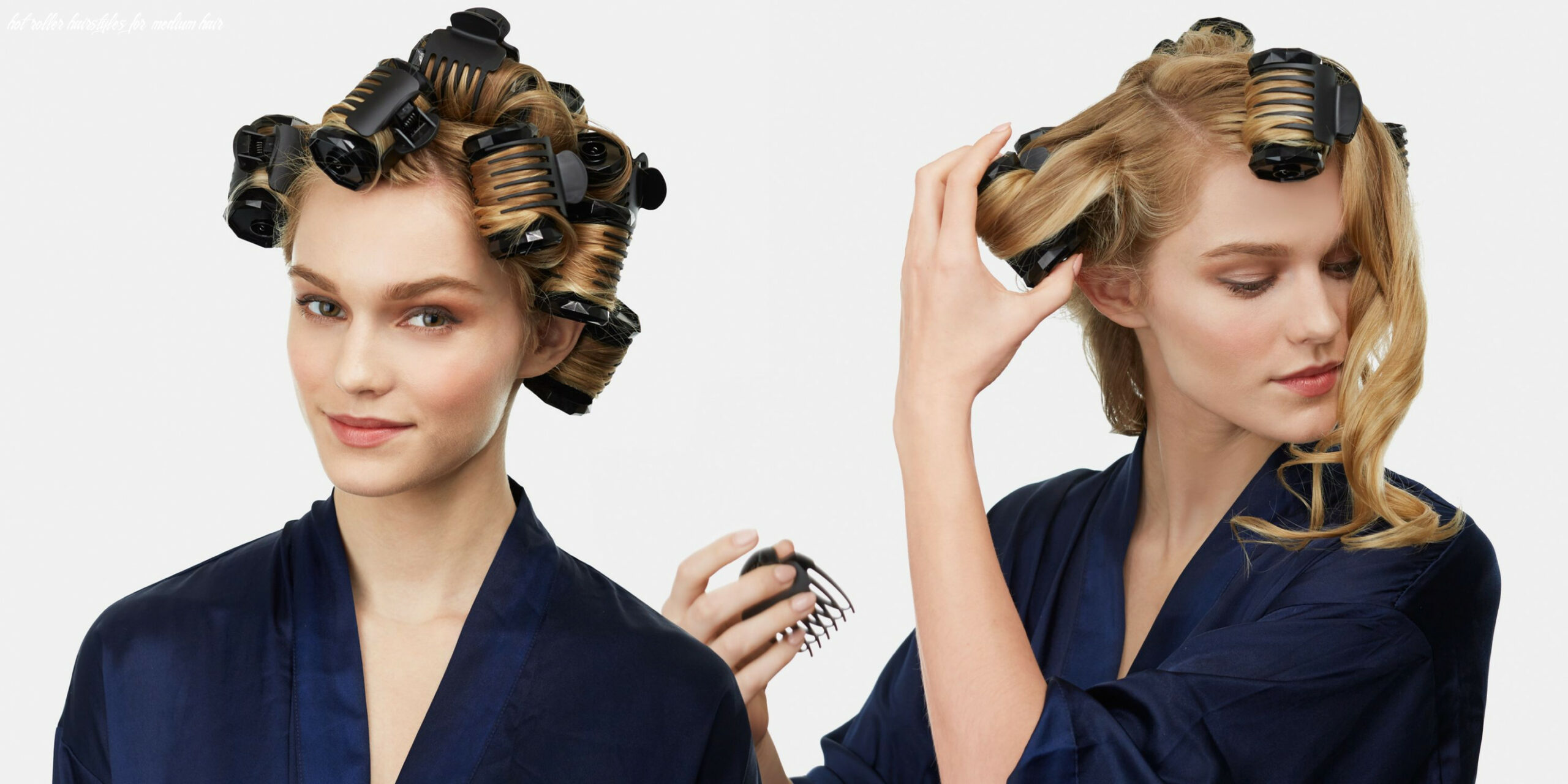 The new way to use hot rollers a step by step guide to curling