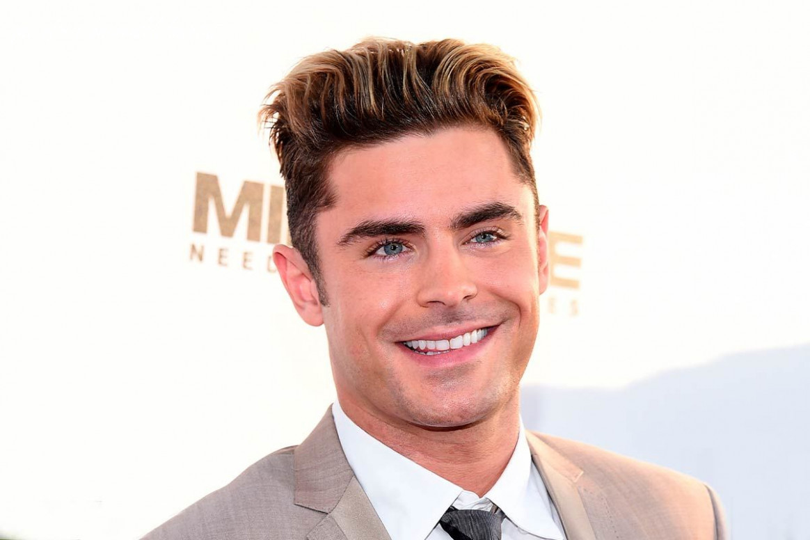 The Selective Collection Of The Best Zac Efron Haircut Styles
