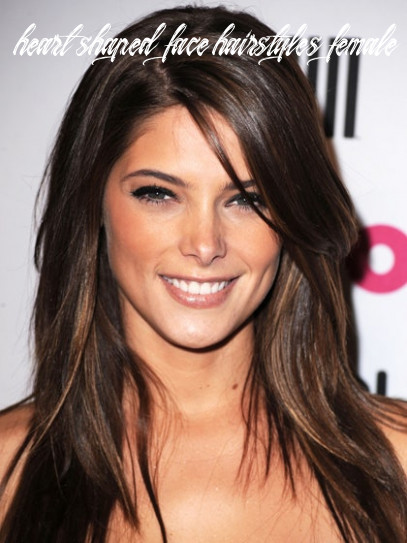 The top 10 haircuts for heart shaped faces | allure heart shaped face hairstyles female