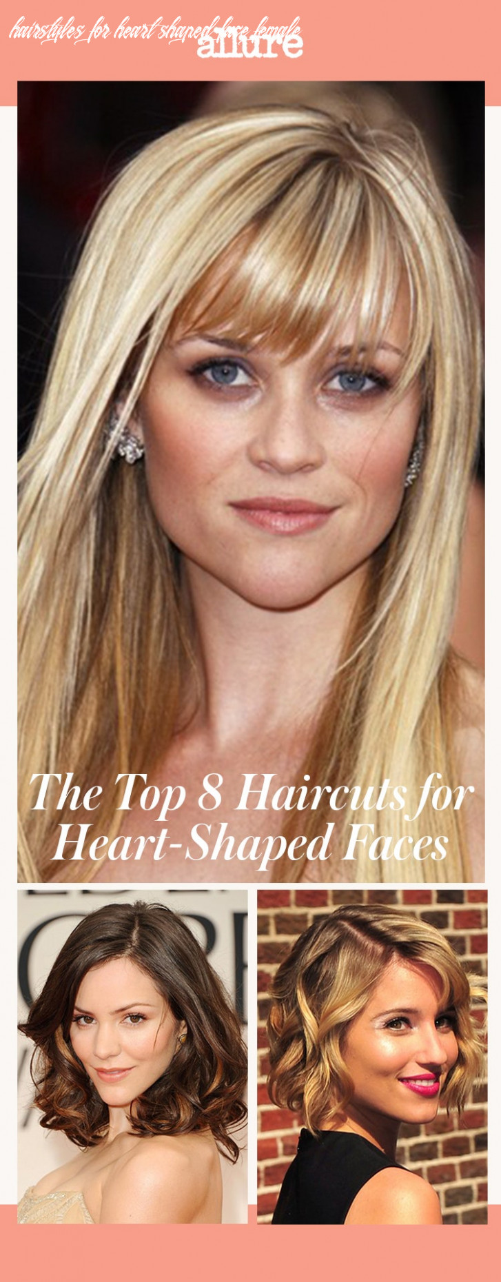 The top 11 haircuts for heart shaped faces | allure hairstyles for heart shaped face female