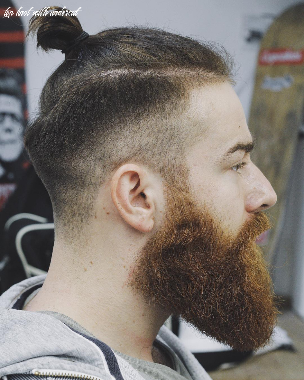 The top knot hairstyle visual guide for men (11 different styles) top knot with undercut