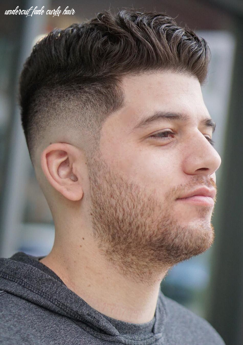 The undercut fade: 12 modern and classic variations of the style undercut fade curly hair