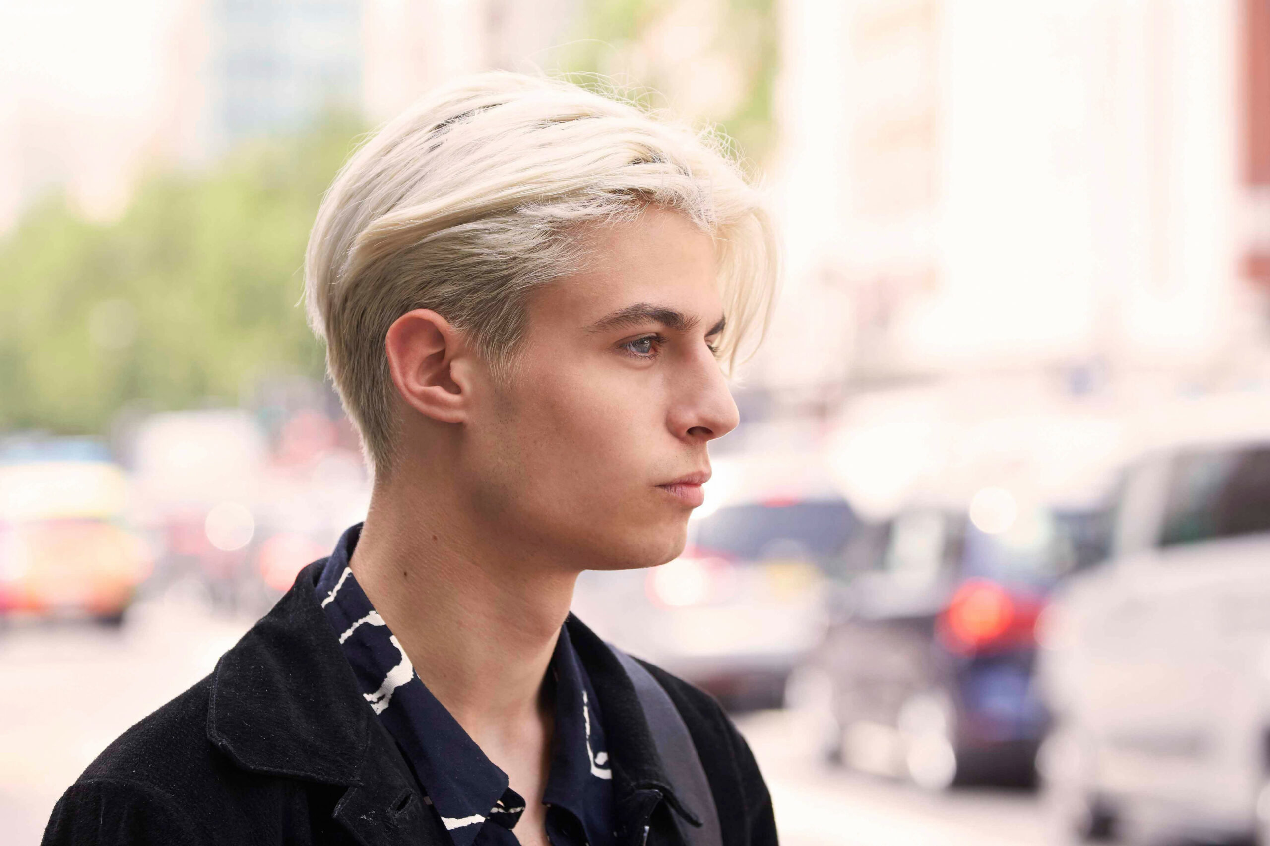The undercut hairstyle men need to try right now mens blonde undercut