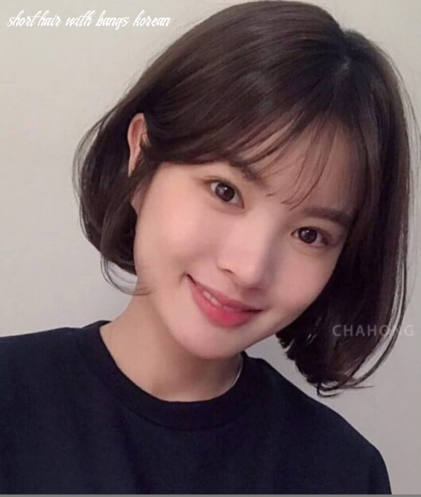 These are the hottest korean bangs in 8 top beauty lifestyles short hair with bangs korean