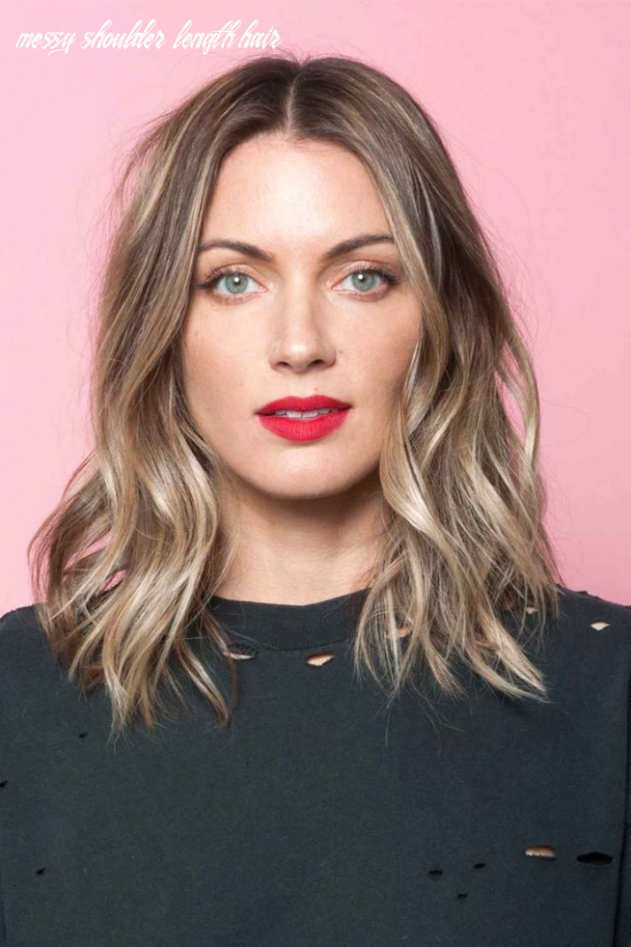 This Is The Secret To A Perfectly-Messy Long Bob | Hair styles ...