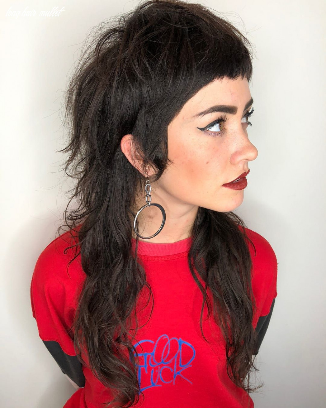 This modern mullet is totally hip and trendier than ever we love