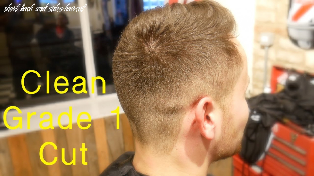 Tidy short back and sides barber how to