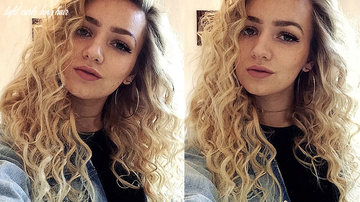 Tight curls hair tutorial (with a curling wand) tight curls long hair