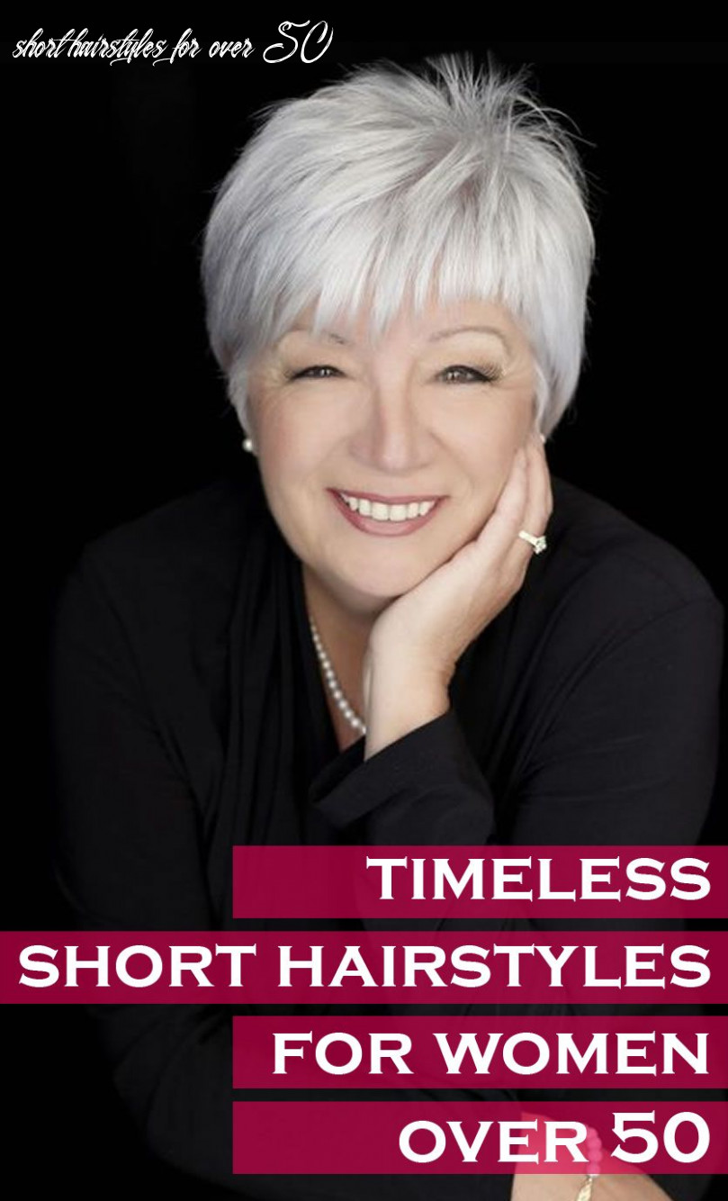 Timeless Short Hairstyles for Women Over 8 – CircleTrest
