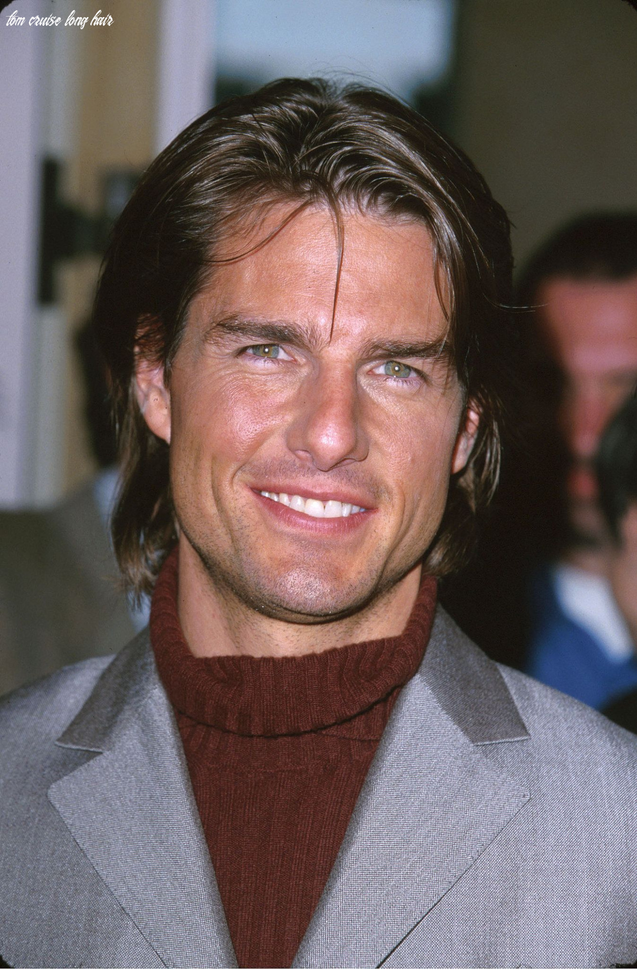 Tom cruise had long hair for the academy awards in march 9