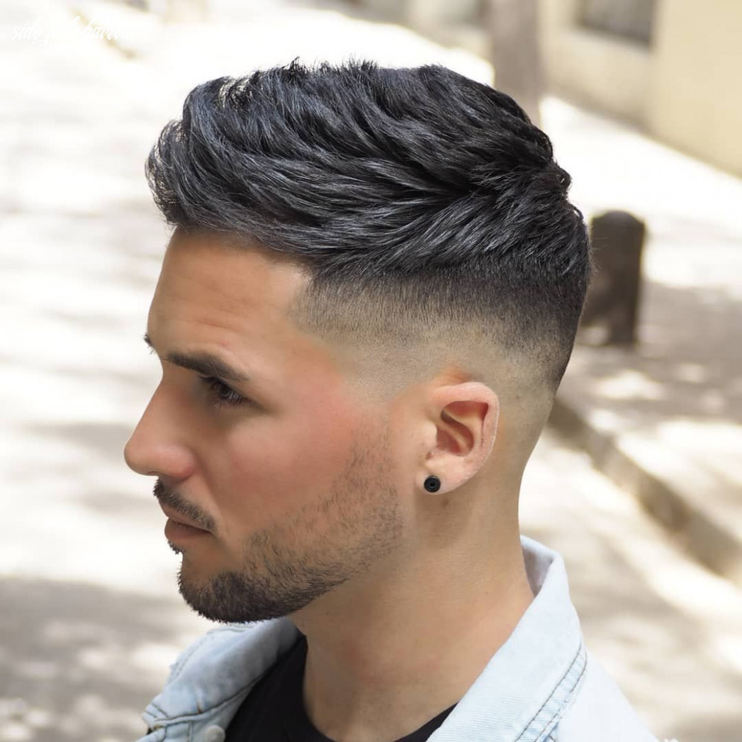 Top 10 fade haircuts for men (10 update) | haarschnitt, frisuren