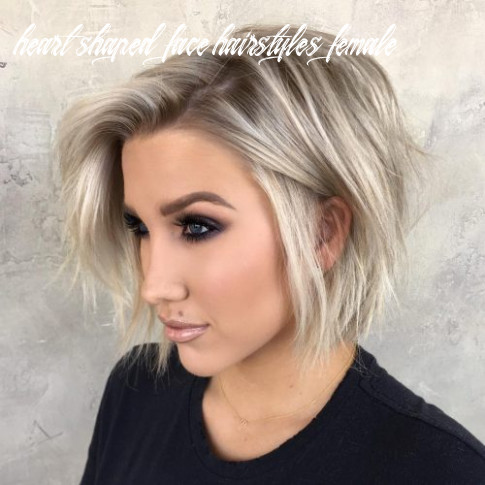 Top 10 haircuts for heart shaped faces of 10 heart shaped face hairstyles female