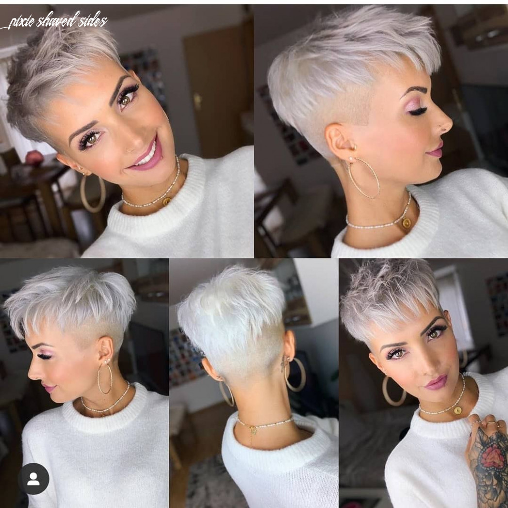 Top 10 latest trendy pixie haircuts for women 10 short hair styles pixie shaved sides