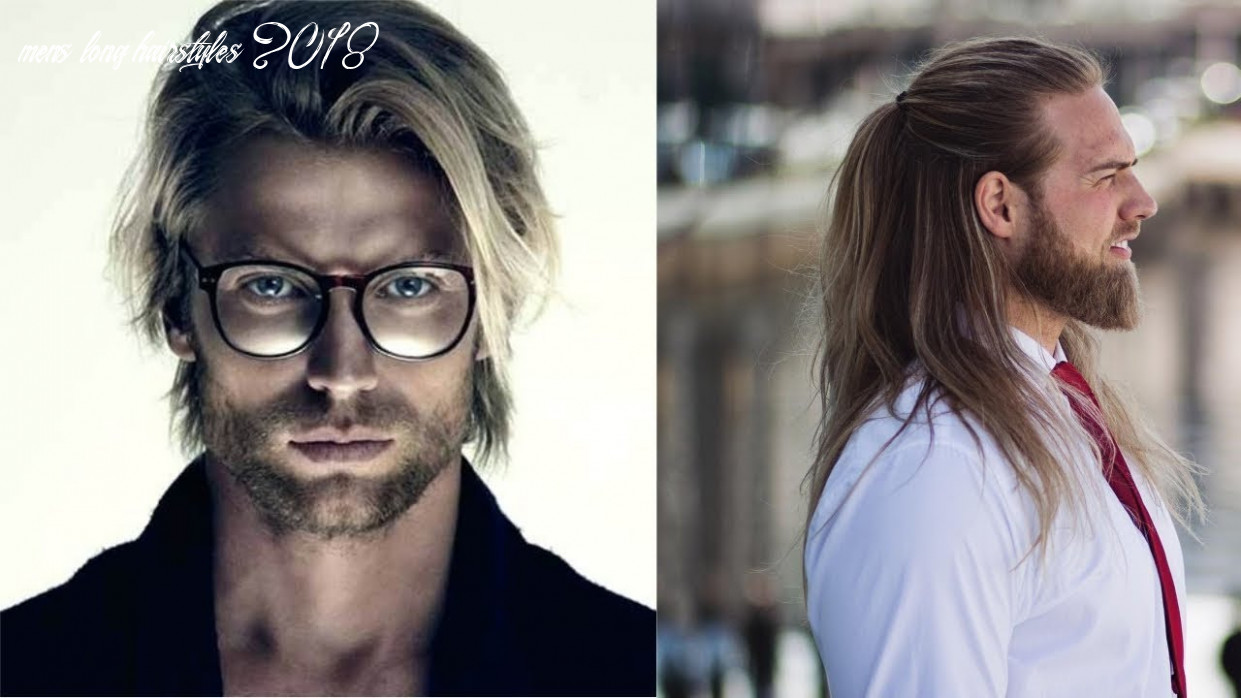 Top 10 Stylish LONG HAIRSTYLES For Men 10- MEN With Long ...