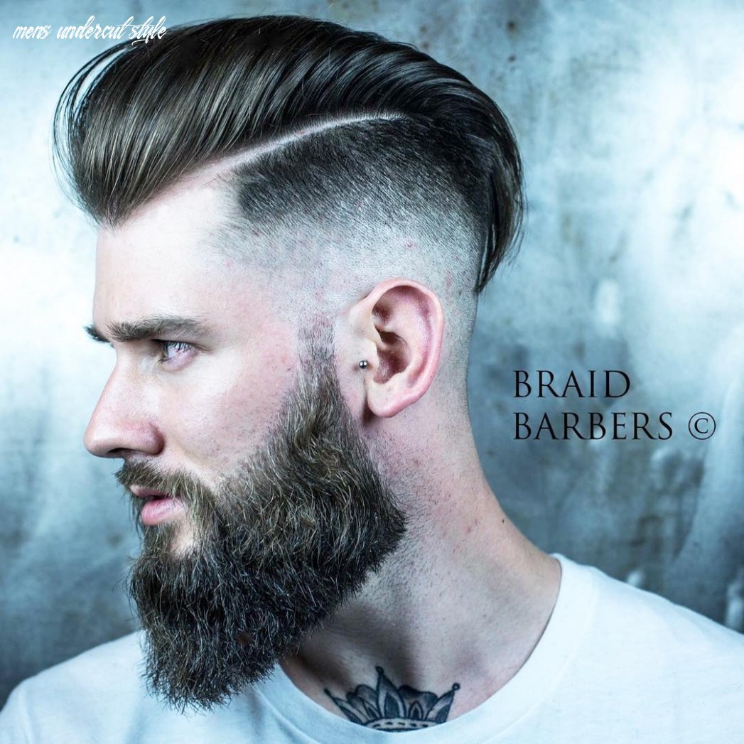 Top 10 undercut haircuts hairstyles for men (10 update) mens undercut style