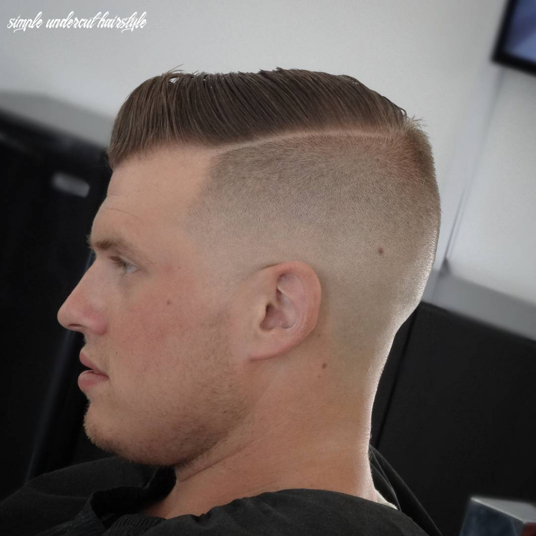 Top 10 undercut haircuts hairstyles for men (10 update) simple undercut hairstyle