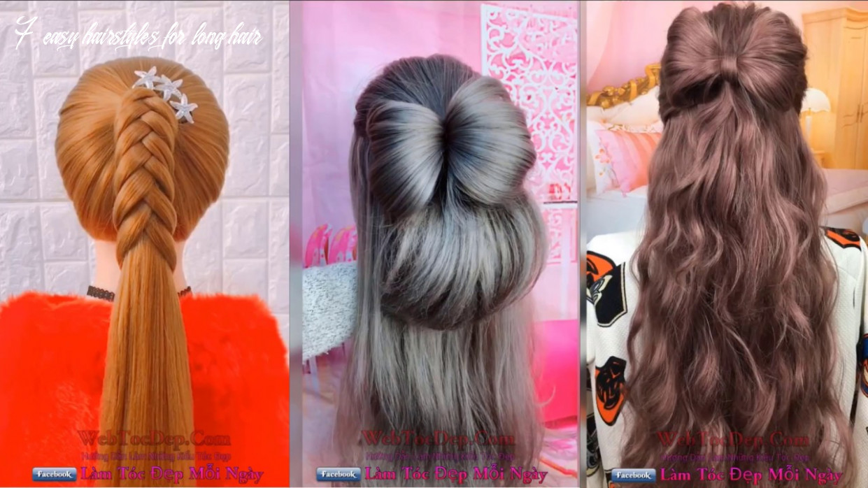 Top 11 easy hairstyles beautiful hairstyles compilation 11 7 easy hairstyles for long hair