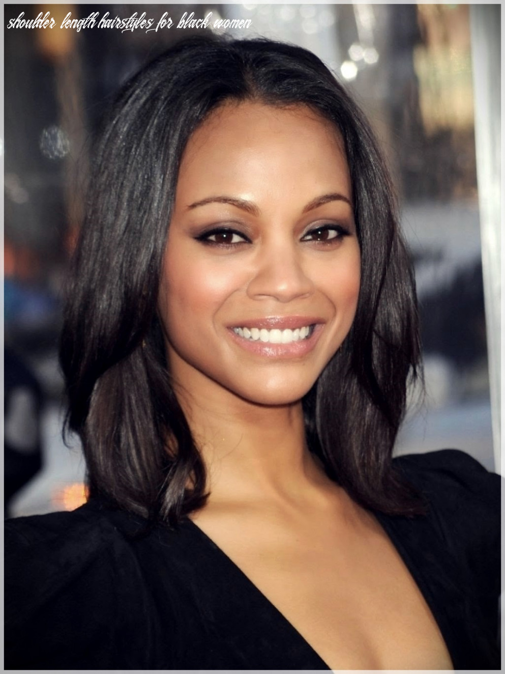 Top 11 hairstyles for black women 11 | shoulder length hairstyles for black women