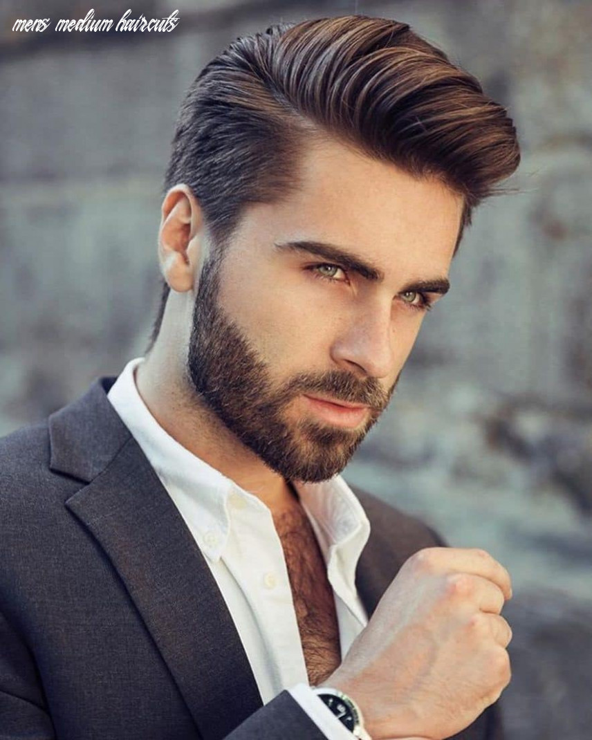 TOP 11 MEN'S MEDIUM HAIRSTYLES FOR 11.