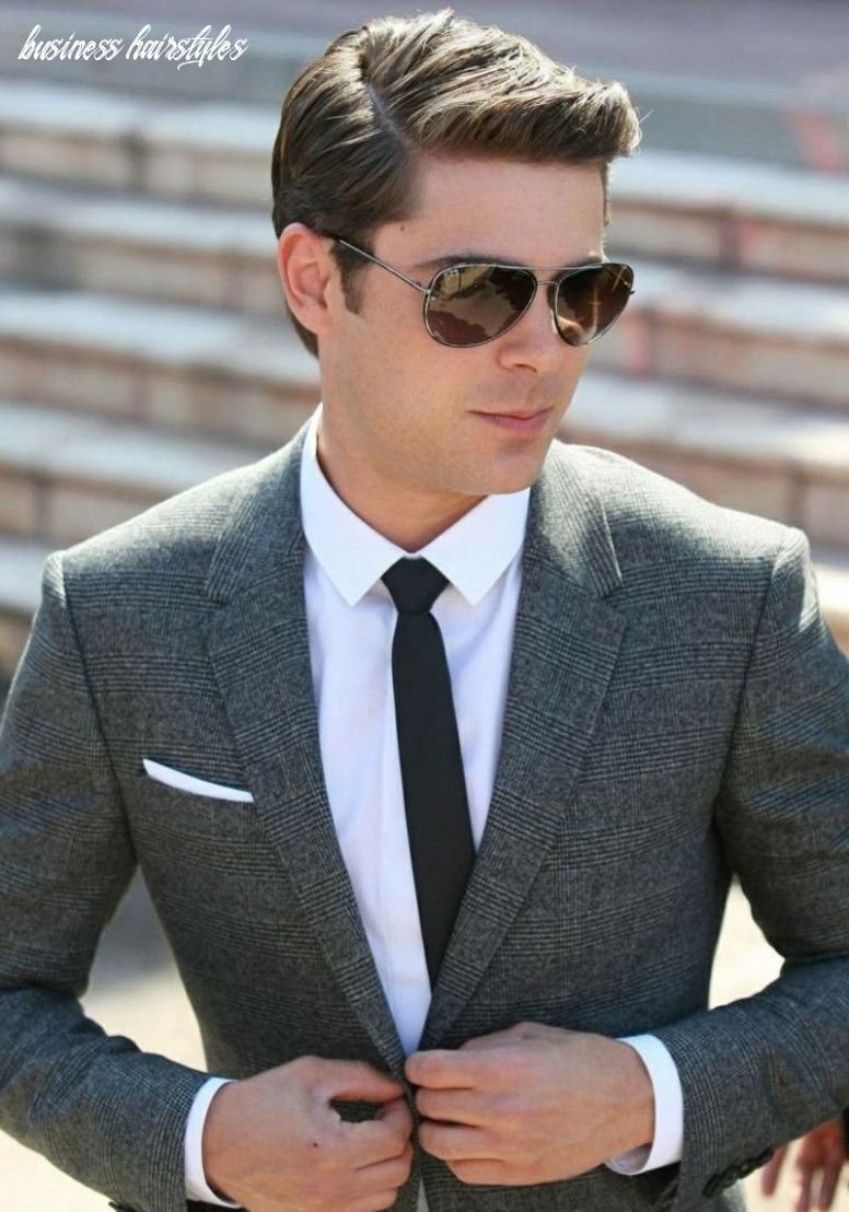 Top 11 modern business hairstyles for men | business hairstyles