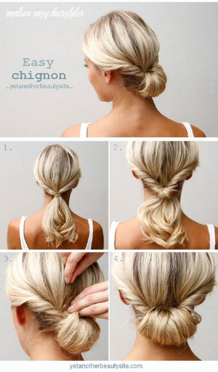 Top 11 Super Easy 11-Minute Hairstyles For Busy Ladies   Medium ...