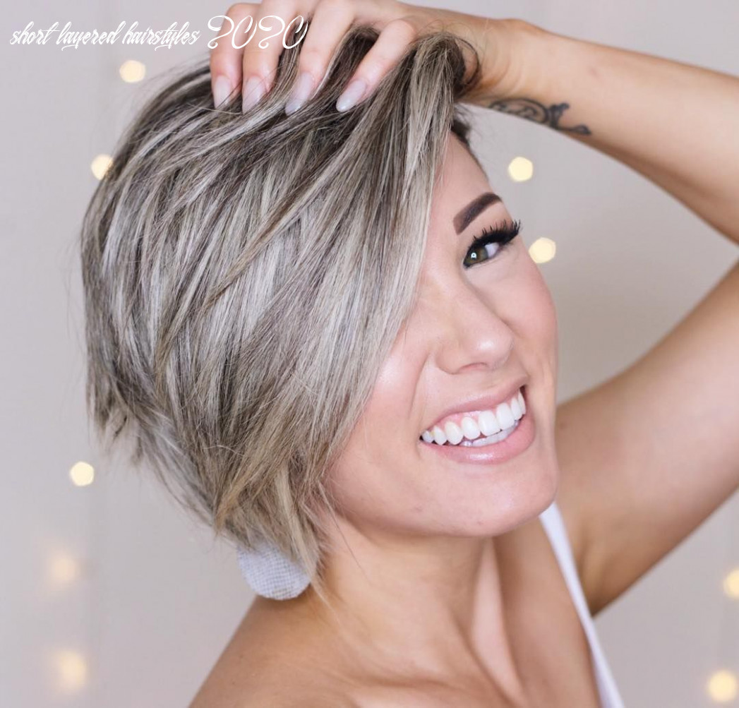 Top 11 trendy, low maintenance short layered hairstyles 11