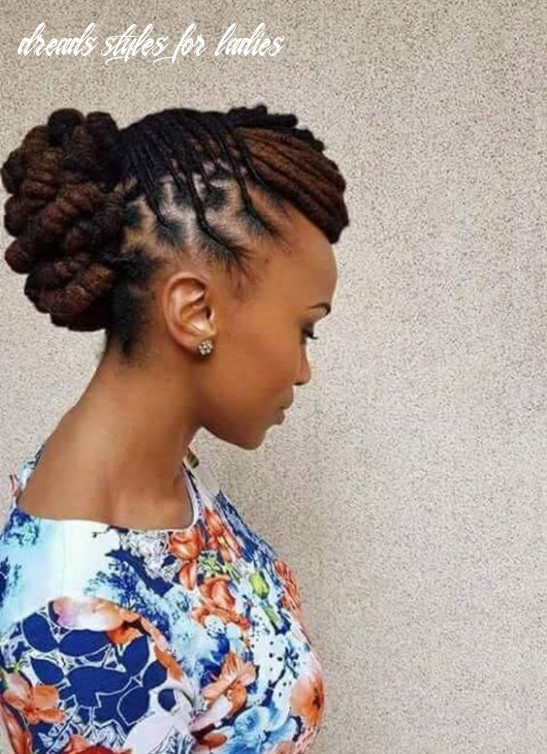Top 12 beautiful styles for dreadlocks trend 12 (with images