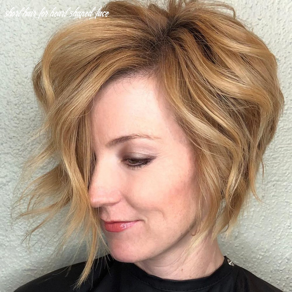 Top 8 haircuts for heart shaped faces of 8 short hair for heart shaped face