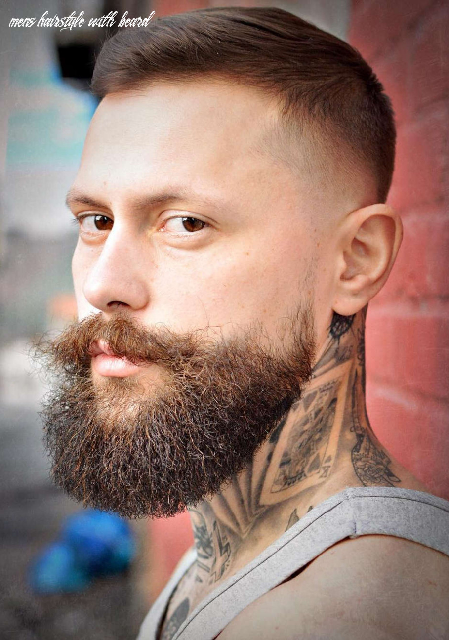 Top 8 hairstyles for men with beards mens hairstyle with beard