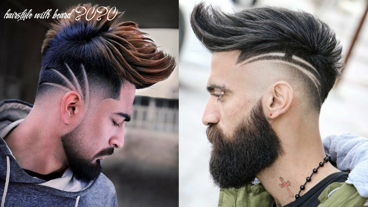 Top 8 most stylish hairstyles for men 8  beard with hairstyles