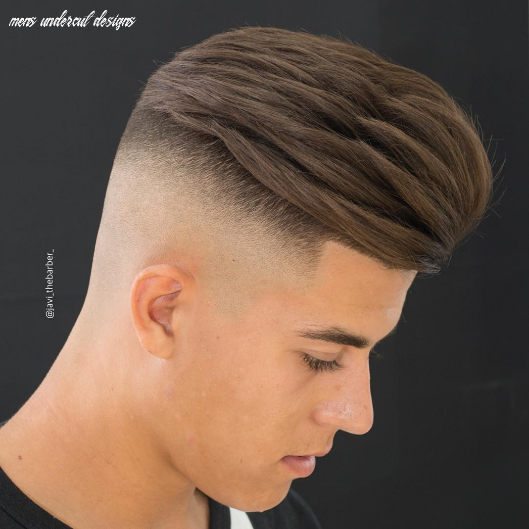 Top 8 undercut haircuts hairstyles for men (8 update) mens undercut designs