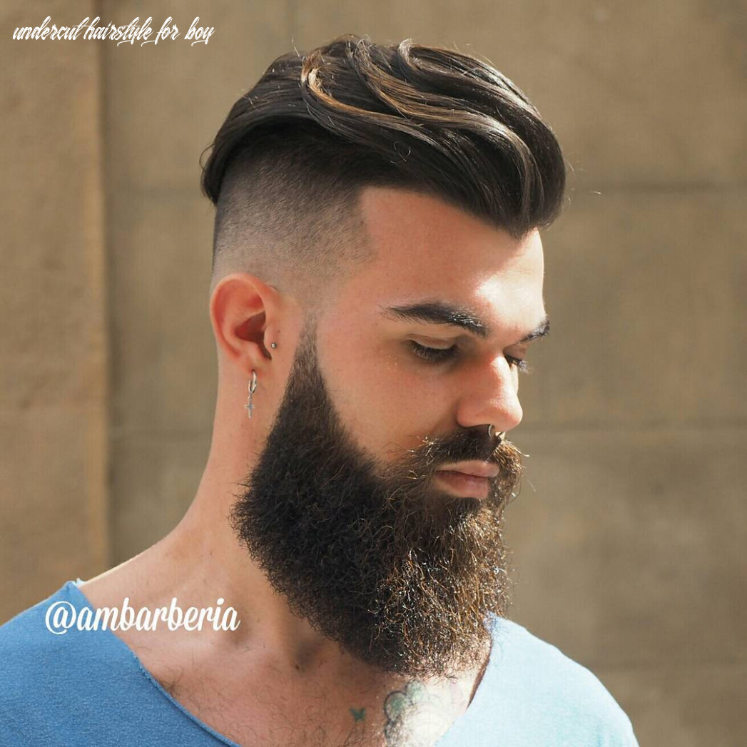 Top 8 undercut haircuts hairstyles for men (8 update) undercut hairstyle for boy