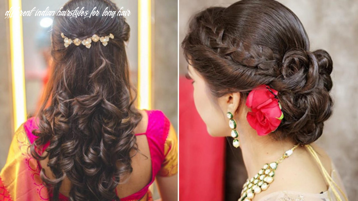 Top 9 Simple And Sleek Indian Hairstyles For Curly Hair | Indian ...